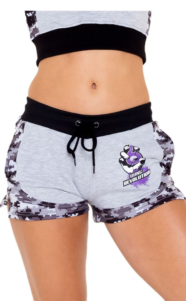 womens-bang-revolution-world-tour-camo-shorts-purple haze 1