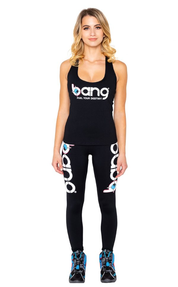Womens Bang-Black-Booty-Scrunch-Set leggings front