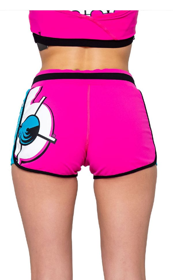 Bang-Rainbow-Unicorn-Fitness-Collection---Women's-Cropped-Shorts