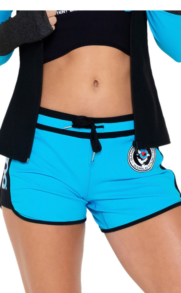 Bang-Revolution-Blaze-shorts-turquoise-jacket-shorts