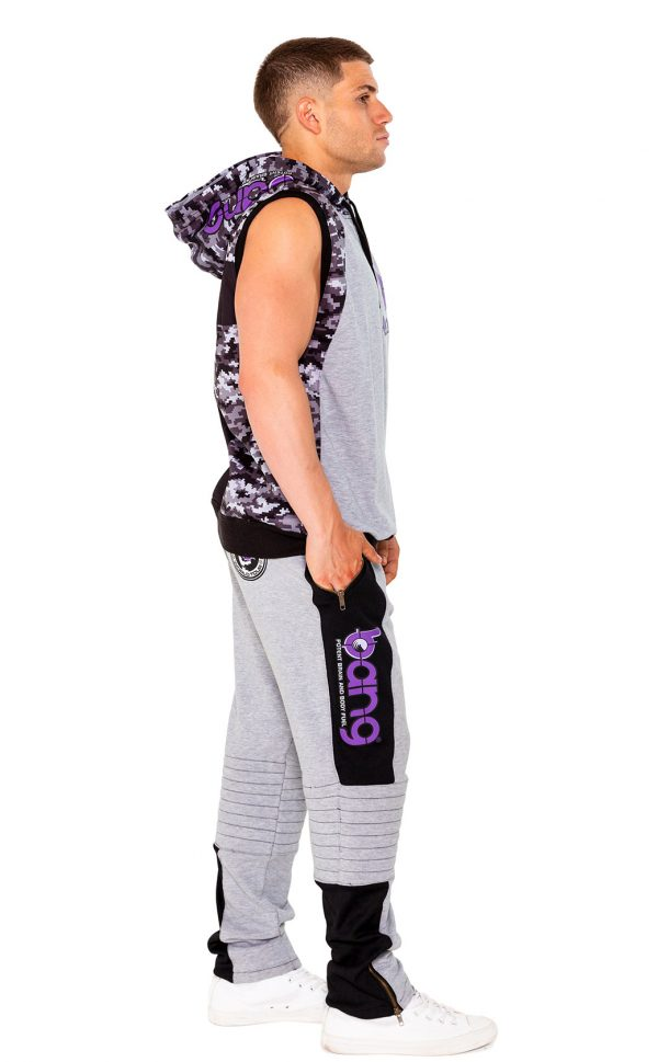 mens bang revolution Hoodie-purple-set