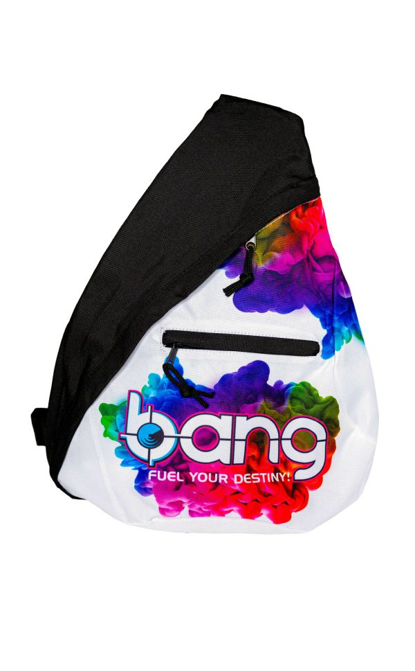 Triangular backpack front