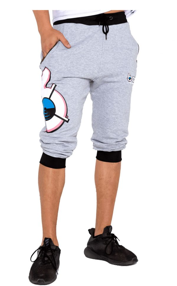 mens bang revolution-grey sweatpants joggers 1