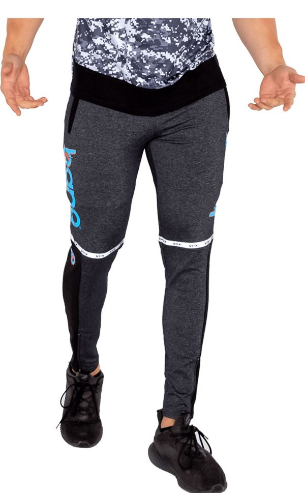 mens bang revolution-muscle-camo-blue-sweatpants 1