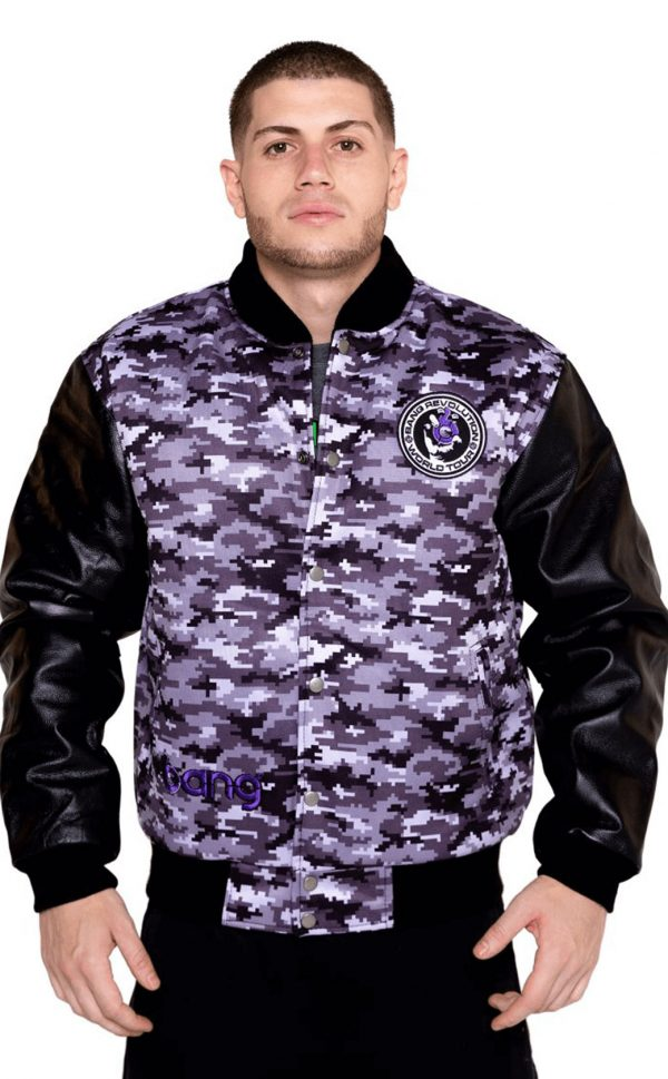 mens bang revolution purple-camo-jackets front