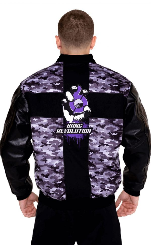 mens bang revolution purple-camo-jackets