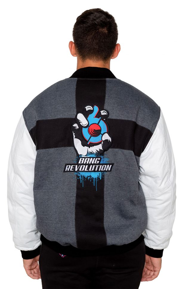 Bang-Energy Revolution -Team-Jacket gray blue razz
