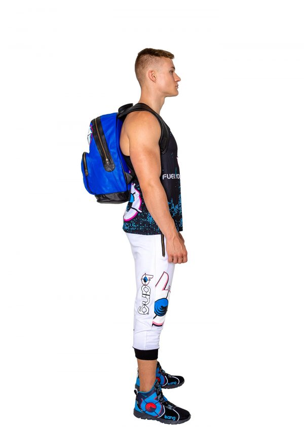 bang energy blue backpack