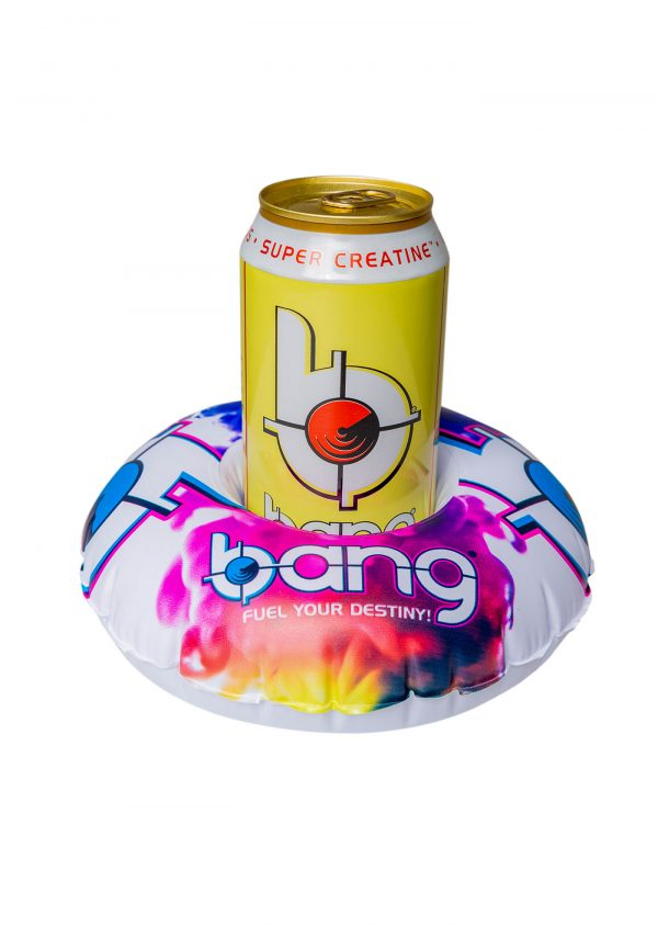 bang energy inflatable drink float