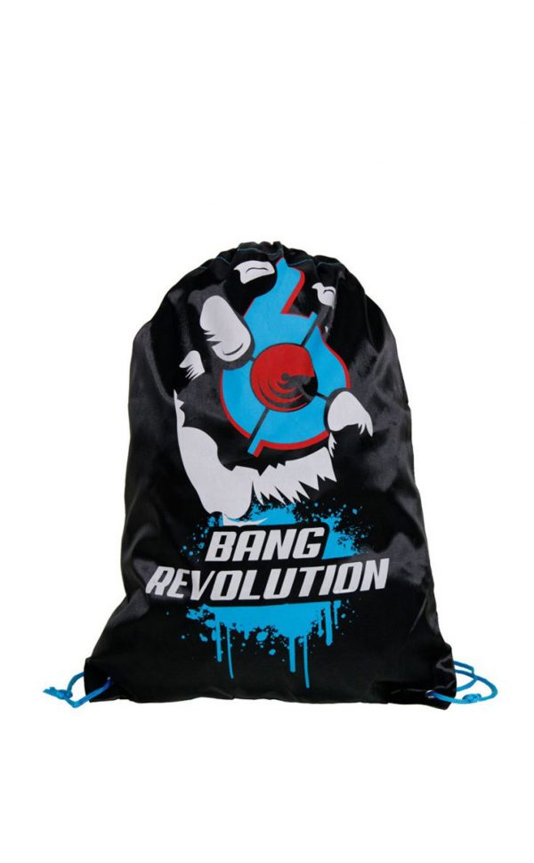 Bang-drawstring blue razz