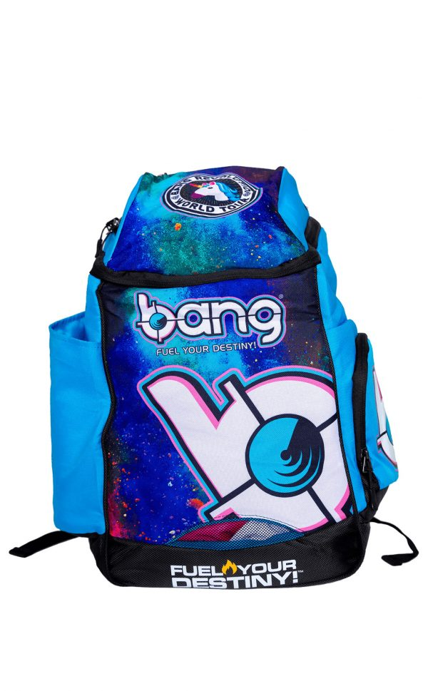 Bang-energy-Backpack blue fuel your destiny