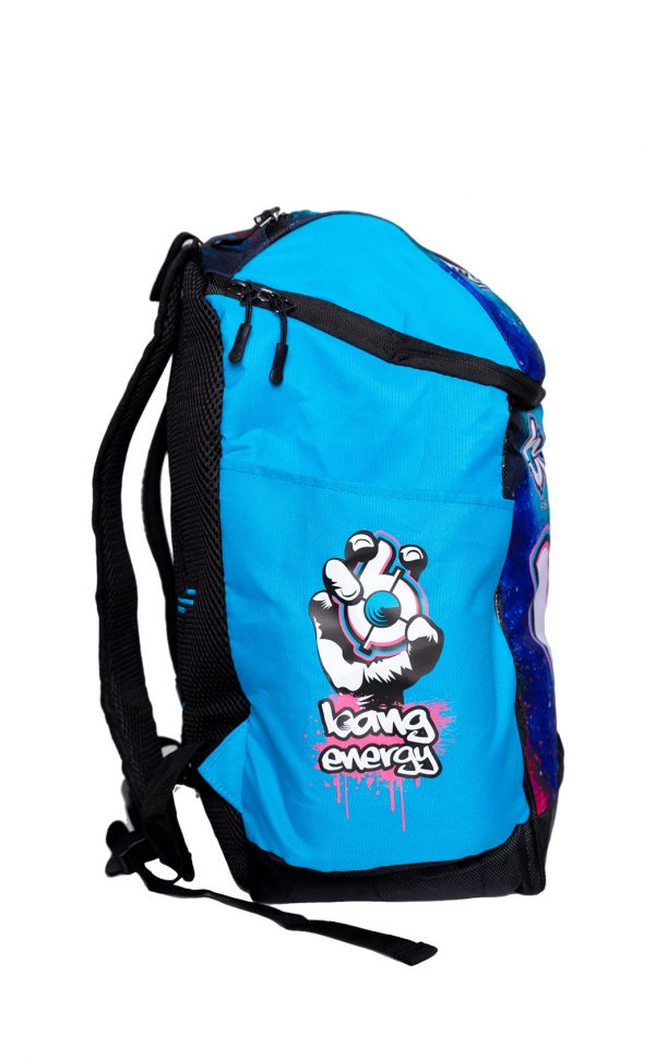Bang-energy-Backpack light blue