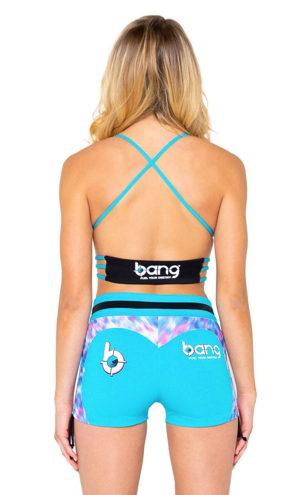 bang-womens-cheetah-corn-blue-shorts-back