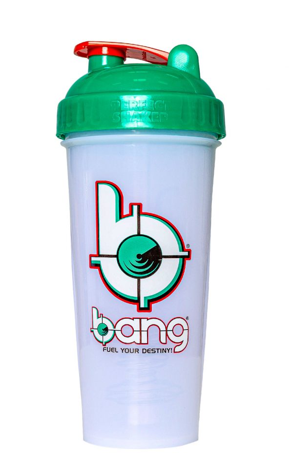 Bang Frosted Protein Shaker teal