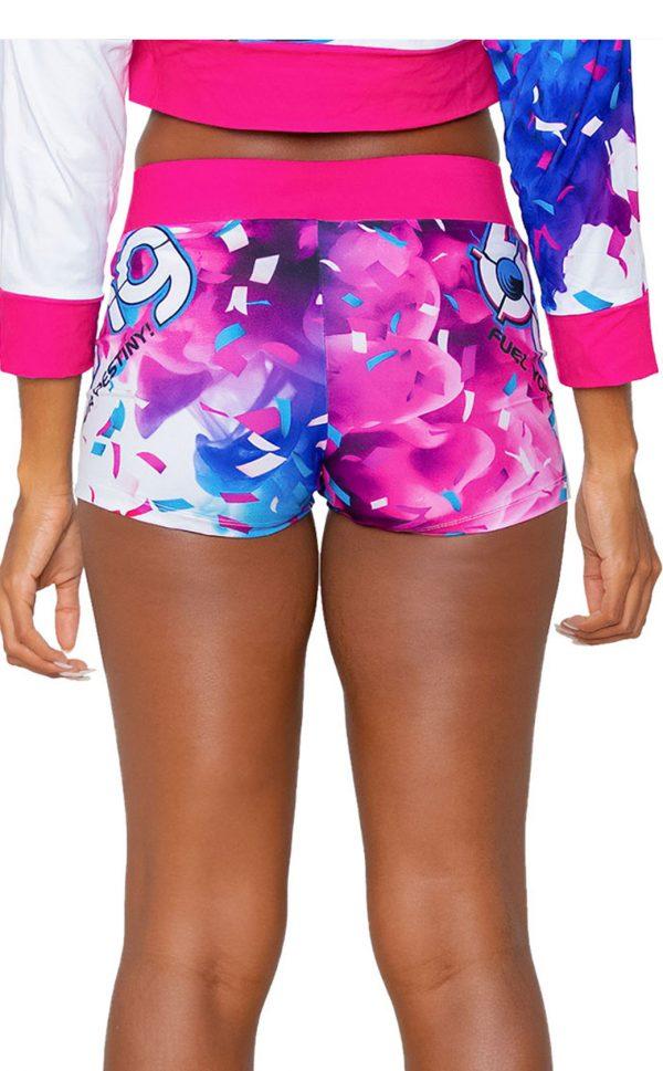 Birthday Cake Bash Women's Shorts back
