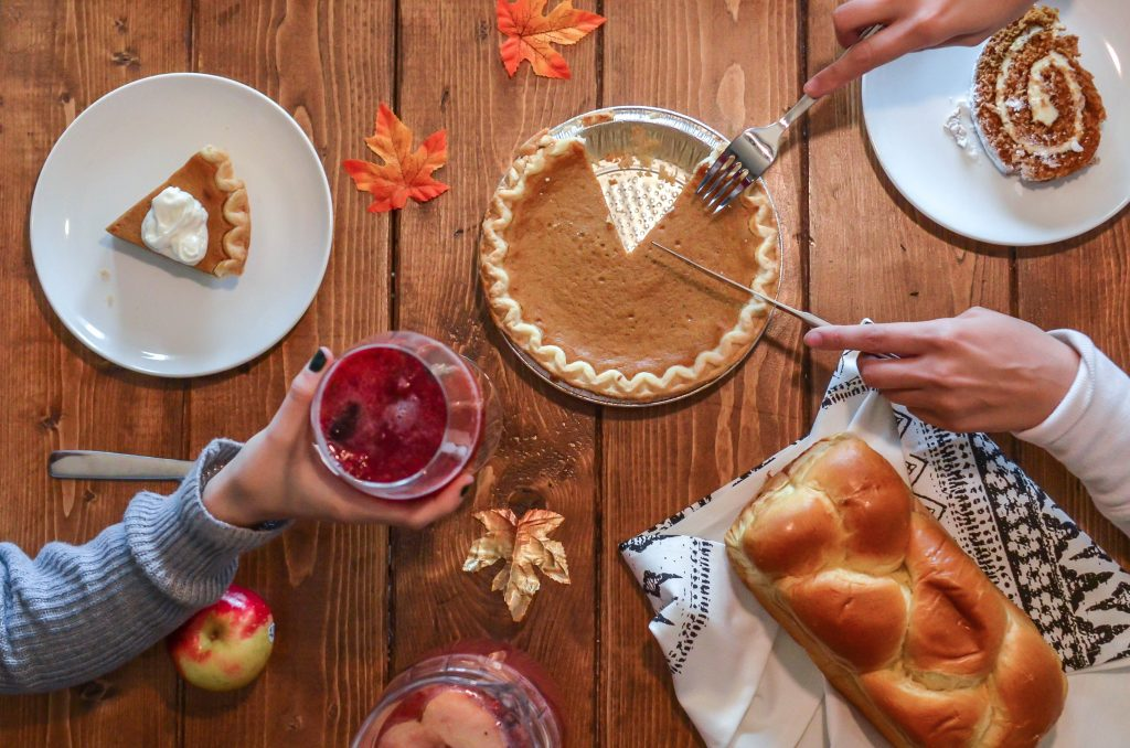 Thanksgiving dinner photo by Elements 5 Digital on Unsplash by